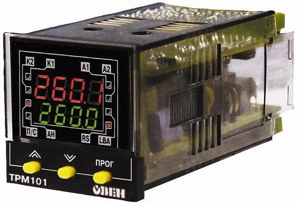 Прибор используется в составе сложного технологического оборудования: экструдеров, термопластавтоматов.